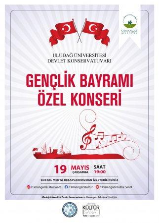Gençlik Bayramı Özel Konseri